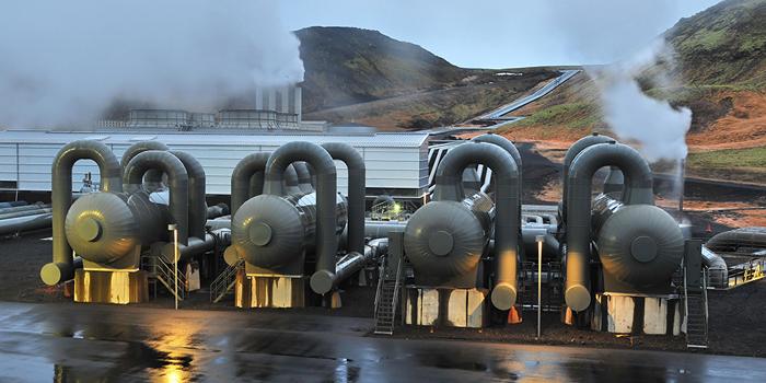 Installazione geotermica, Islanda