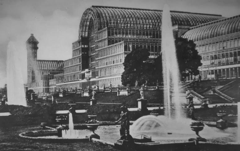 Crystal Palace, Londra, 1854