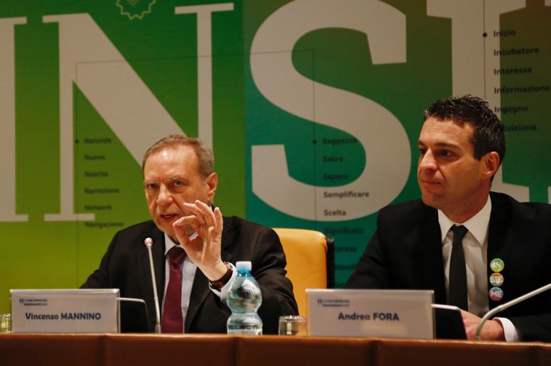 Vincenzo Mannino, Segretario generale di Confcooperative (foto di Francesca Salvati)