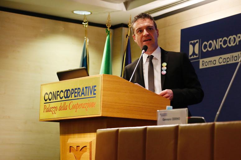 Commissario Confcooperative Roma, Andrea Fora (foto di Francesca Salvati)