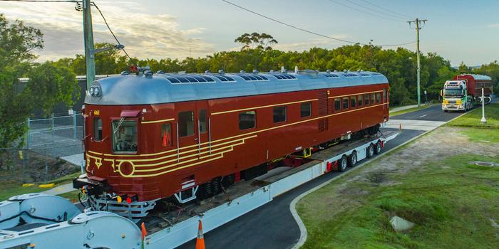 Il treno storico di Byron Bay