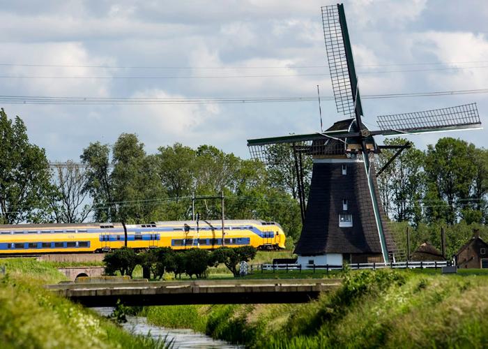 Il treno eolico dei Paesi Bassi, Nederlandse Spoorwegen