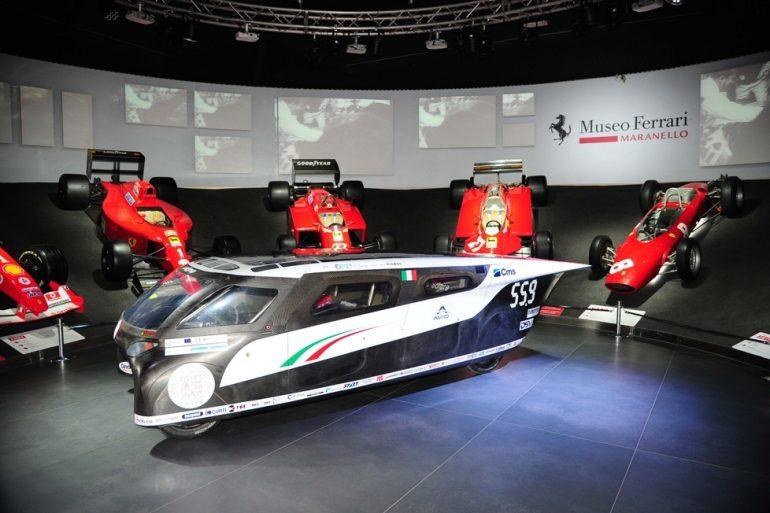 Emilia 4: la prima auto solare Made in Italy