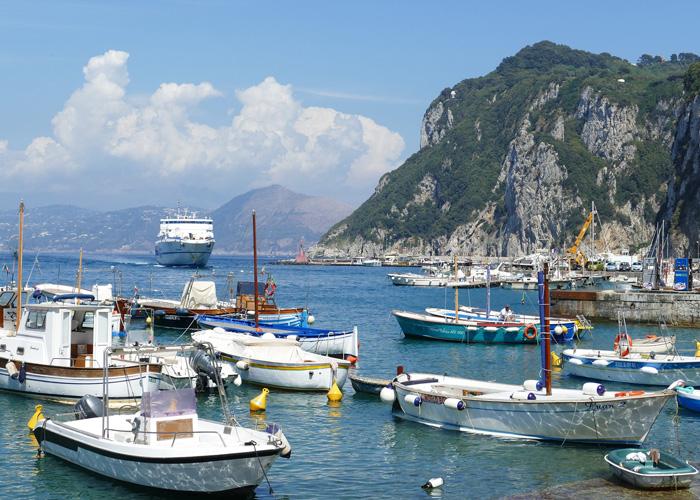 Lo strumento per per le isole - Isola di Capri