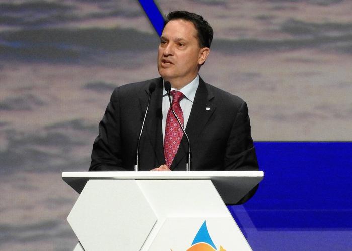 David Carroll, presidente dell'IGU