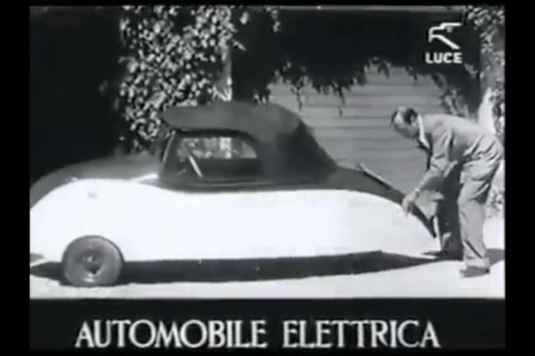 Mobilità elettrica… ante litteram