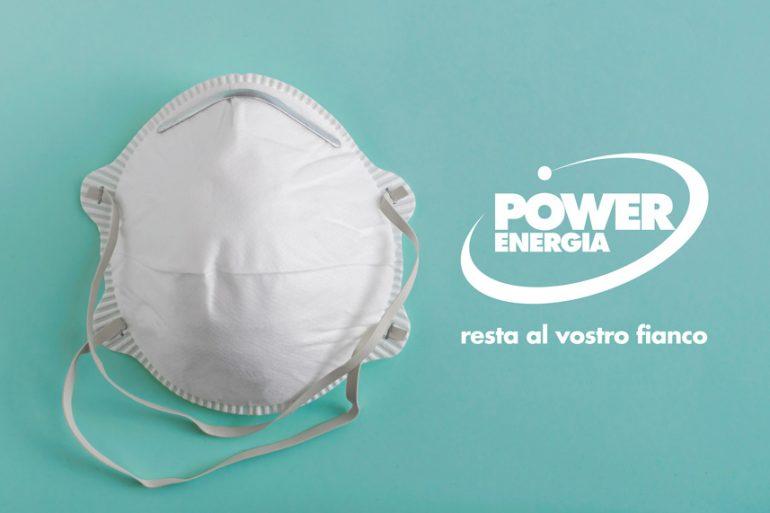 Emergenza COVID-19: Power Energia resta al vostro fianco