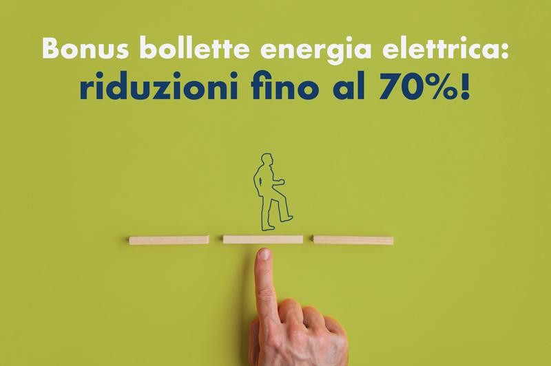 Bonus bollette energia elettrica: riduzioni fino al 70%!